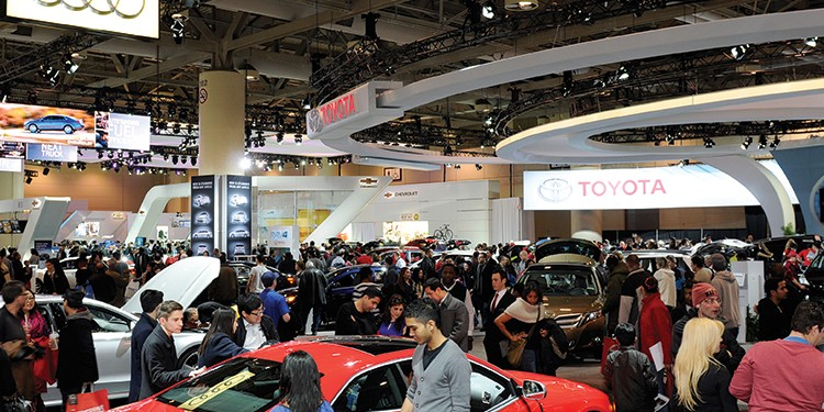 2014 Canadian International Auto Show, Toronto