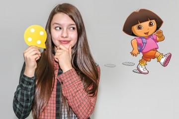Fatima Ptacek, voice for Dora the Explorer