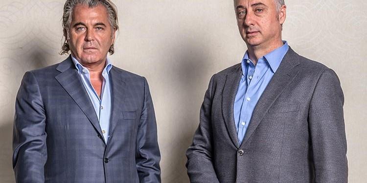Jim De Gasperis and Silvio Guglietti,