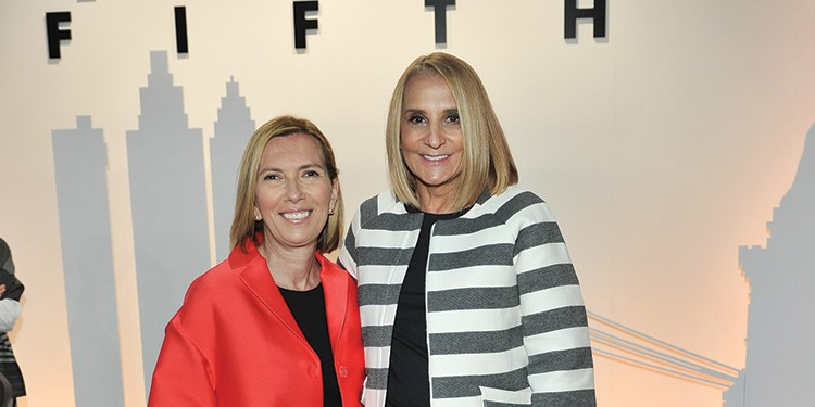 Liz Rodbell, president of Hudson's Bay Company, and Marie Holman-Rao, chief creative officer for Hudson's Bay Company