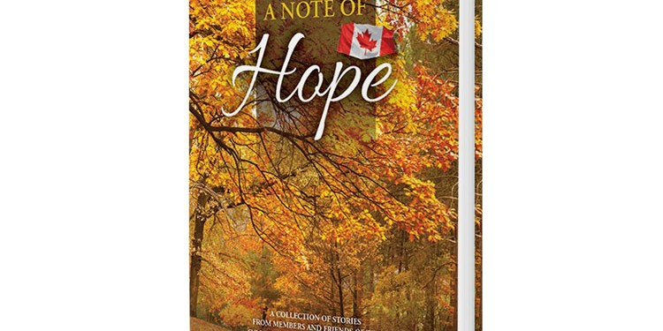 Released in early 2014 by Dolce Book Publishing Inc., A Note of Hope by members and friends of the Concord West Seniors Club reveals a collection of heart-warming stories that reflect how an appreciation for the past makes way to a bright future