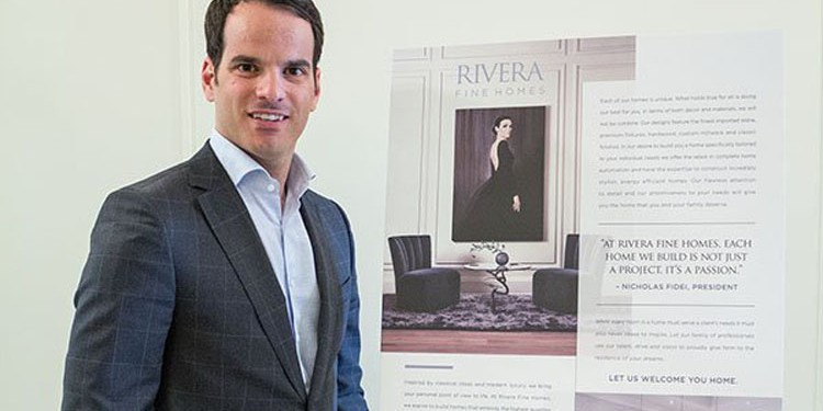 nicholas fidei president of rivera fine homes