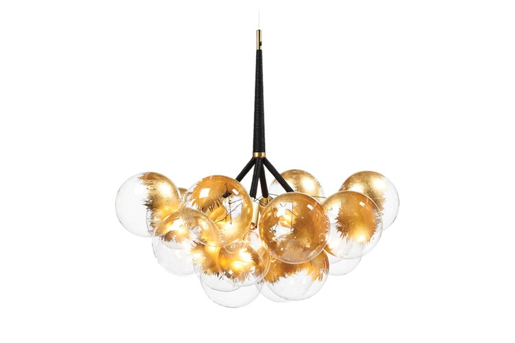 pelle-gold-bubble-chandeliers-lighting-ceiling-glass-leather