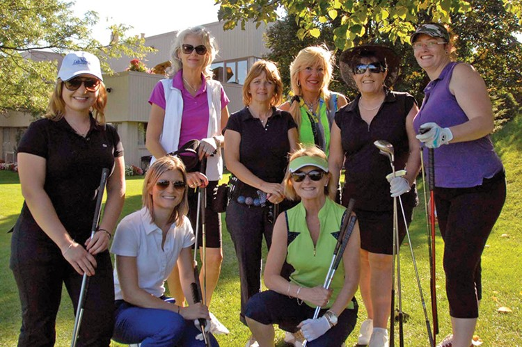 Seventy-four golfers attended this year's annual Ladies on the Links Golf Tournament — a substantial increase from last year's event