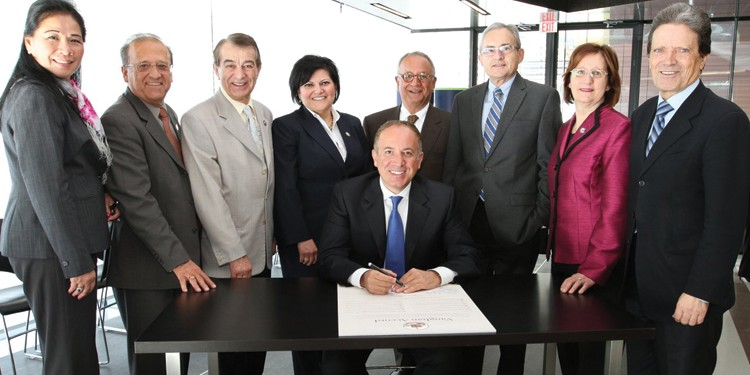 Mayor and Council Vaughan Accord