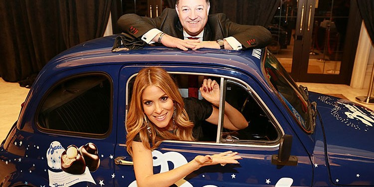 Kevin Frankish and Dina Pugliese of Breakfast Television