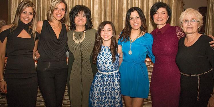 The Fundraising Committee: Josie Giordano, Antonella Zoccoli, Mary Polsinelli, Samantha Balsamo, Patricia Balsamo, Sandra Senatori and Helen Brandao