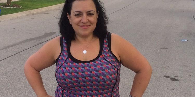 Maria Luisa Bianchi - OneWalk to Conquer Cancer - Training