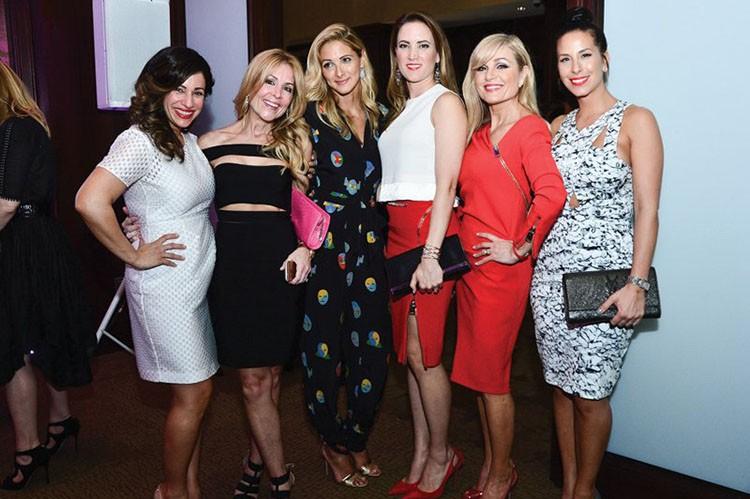 Royal LePage's Vivian Risi and guests