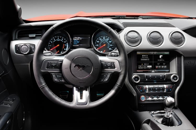The 2015 Ford Mustang GT Interior