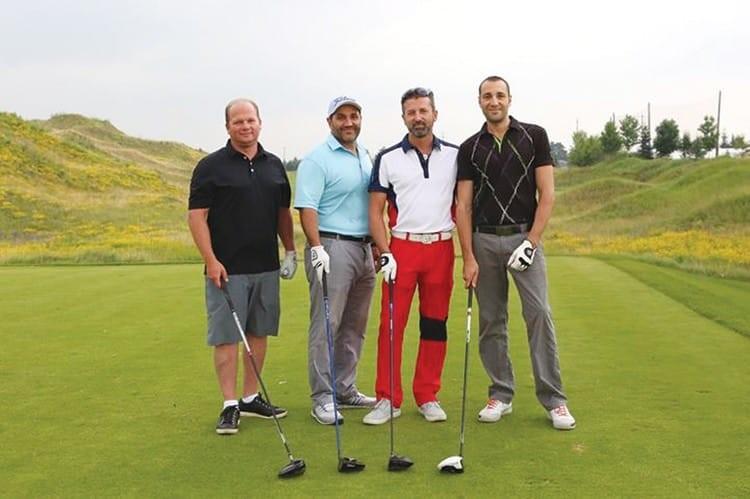 John D'Ambrosio, Sandy Figliomeni, Fernando Zerillo of Dolce Media Group and Raffi Tokmakjian