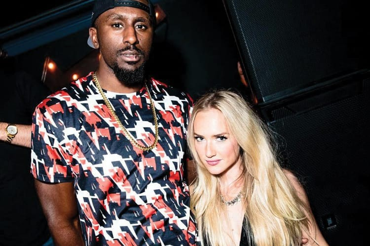 Toronto Raptor Patrick Patterson and Jaclyn Genovese