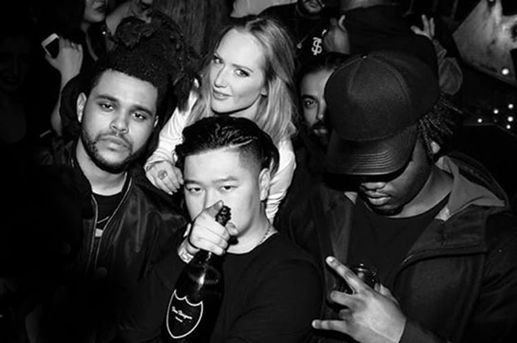 Singer-songwriter The Weeknd