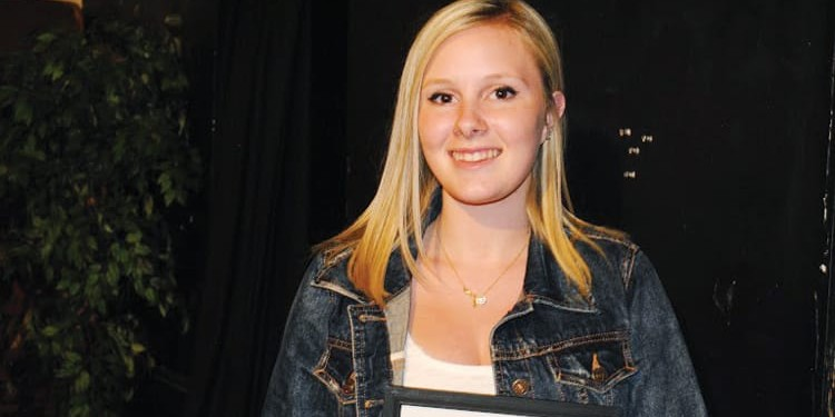 Jessie Bower, first-place winner of the 4th annual Young Inspirations Shine Your Talent show