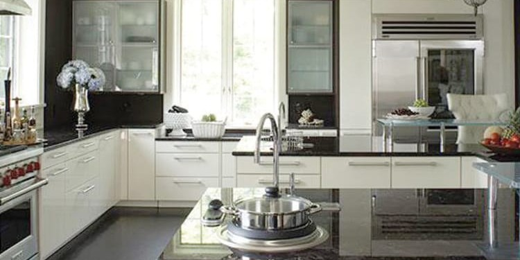 2. Sleek Surfaces