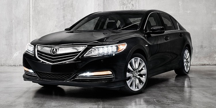 The Acura RLX Sport Hybrid blends fuel economy with subtle sophistication
