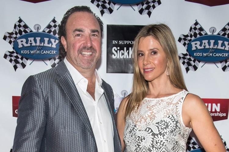 Joel Hock and Mira Sorvino
