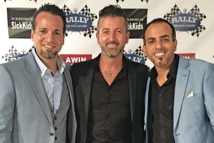 Luciano DeBenedictis, Fernando Zerillo, Leo DeBenedictis