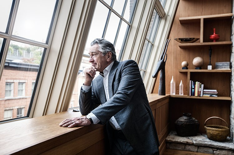 Apart from acting and producing, co-founding the Tribeca Film Festival and launching his Nobu restaurant and hotel partnership worldwide, Robert De Niro oversaw every interior and exterior design detail of the Greenwich Hotel with his partner, hotelier Ira Drukier