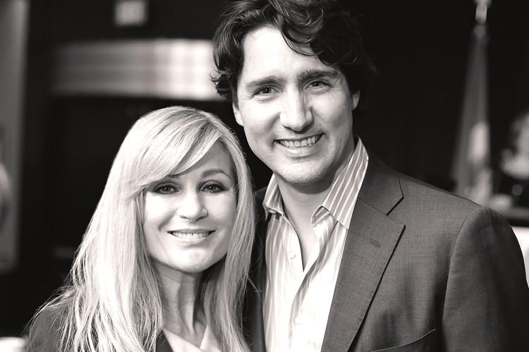 Vivian Risi and Prime Minister Justin Trudeau