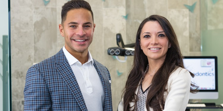 Dr. Bruce Tasios and Dr. Suzanna Lekht,  the orthodontists of Tasios Orthodontics