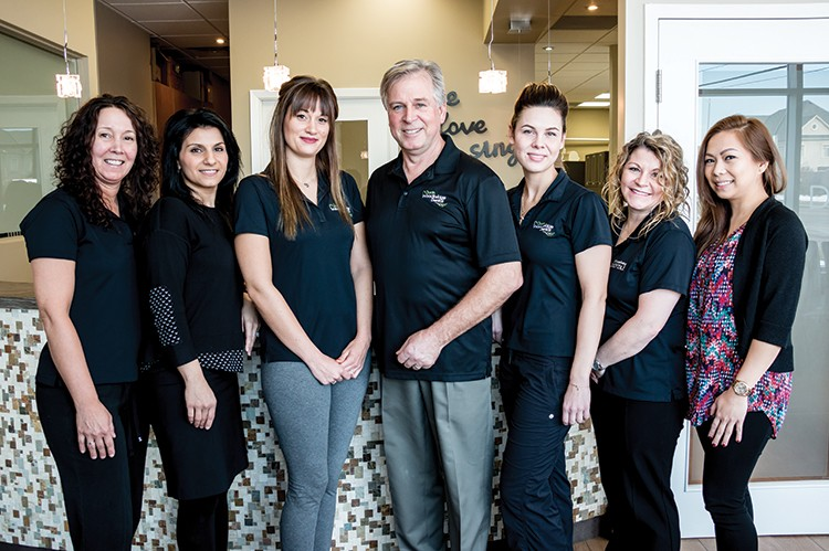 Dr. Robert Penning reaches the highest level of professionalism and care with the support of his team