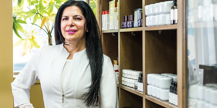 Rose Centraco, owner of Maddalene-Rose Spa