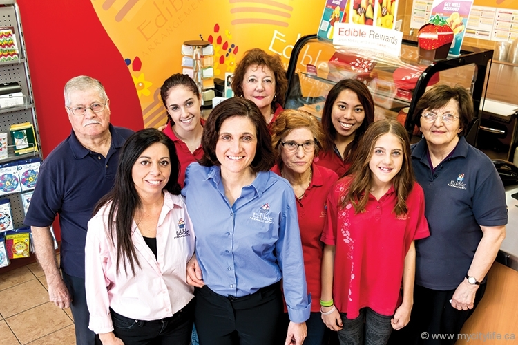 Tiziana Cannella and the Edible Arrangements staff are dedicated to delivering fresh, quality fruit baskets
