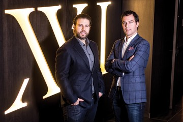Ben and Marc Graci, owners of XXI Chophouse