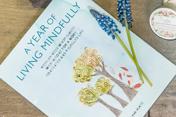 6. A Year of Living Mindfully by Anna Black