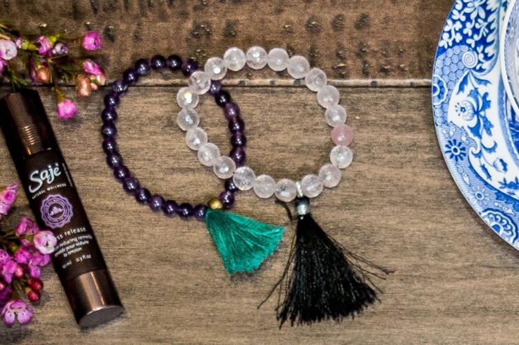 9. Mala-Inspired Bracelets