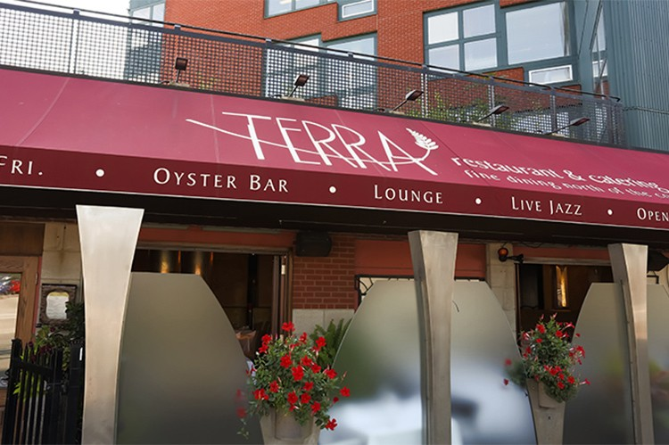 The jewel in their culinary crown, Terra Restaurant continues to attract local and downtown diners with its decadent dishes and impeccable service