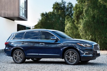 The Nissan Murano blends grace and sportiness with a fresh and fluid design