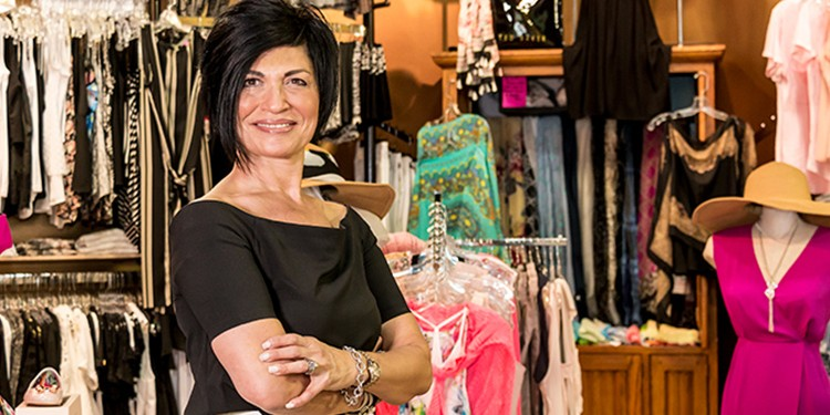 Sandra Senatore, co-owner of Brando's Clothing, fuses old-school styling services with premium fashion brands to create a dreamy shopping experienceSandra Senatore, co-owner of Brando's Clothing, fuses old-school styling services with premium fashion brands to create a dreamy shopping experience