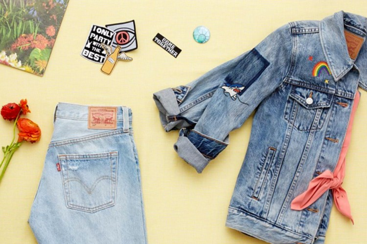 6. Embroidered and Patched Denim   Photo by @levis on Instagram