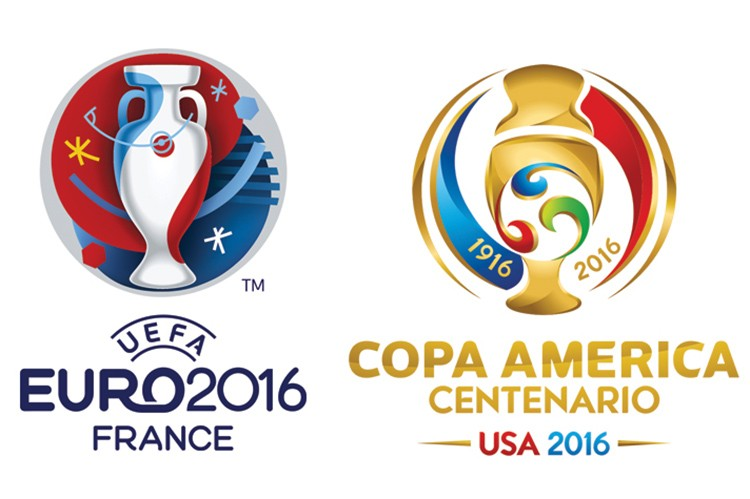Euro 2016 and Copa America Centenario will be taking place this summer
