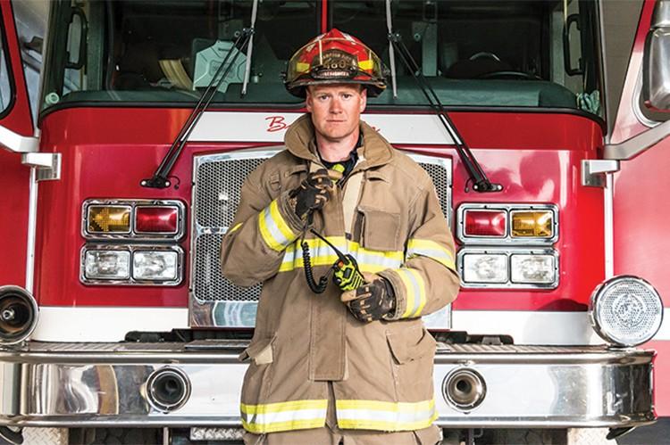 1. Michael Fennel, Brampton Fire & Emergency Services