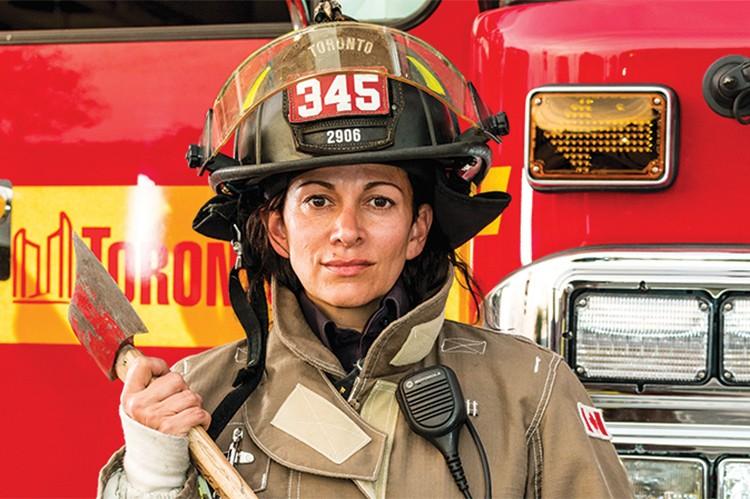 3. Tamara Sylvan, Toronto Fire Services