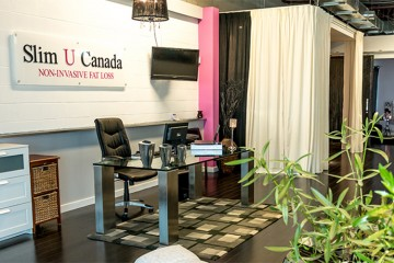 The serene Slim U Canada office puts your comfort and privacy first