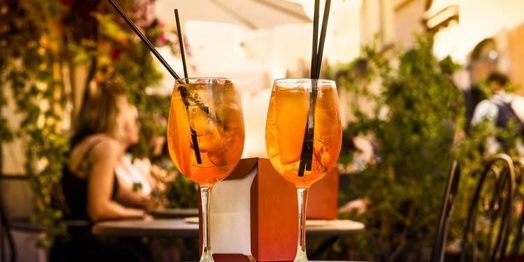 Aperol summer drink