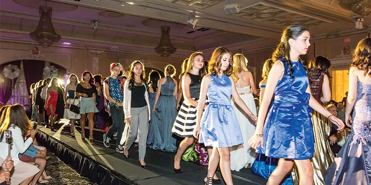 As one of Ontario's most prestigious fashion academies, Haute Couture's annual fashion and art show gala is always a parade of innovative concepts by young designers