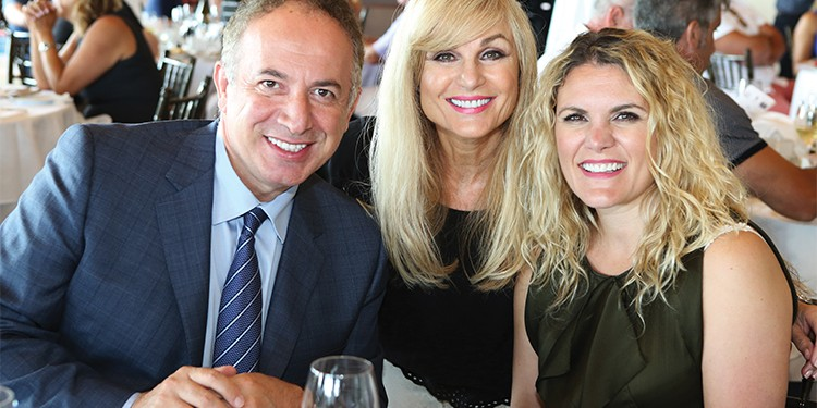 Vaughan Mayor Maurizio Bevilacqua with Vivian Risi, president and broker of record of Royal LePage Your Community Realty, and Michelle Risi, manager of business development at Royal LePage Your Community Realty