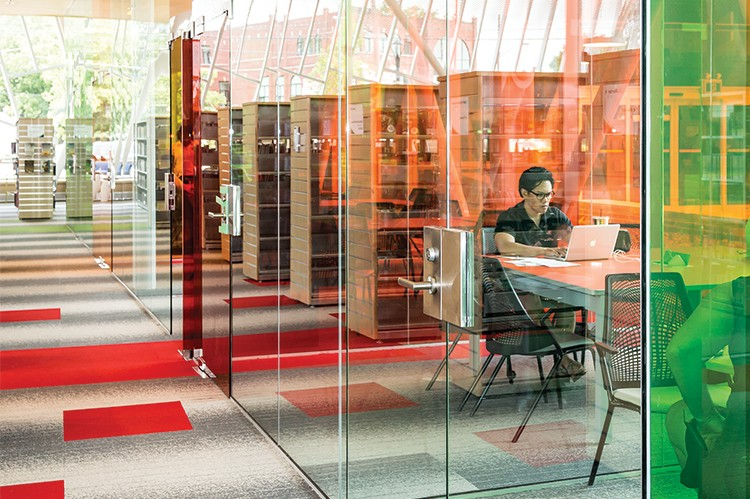 Vaughan's Civic Centre Resource Library, which opened May 14, is equipped with over 70,000 materials and personalized spaces for teens and children.