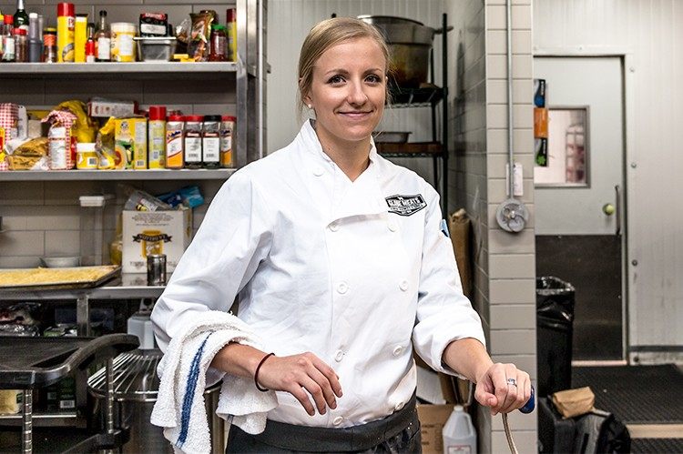 4. CHEF: Brianne Nash | DISH: Porchetta Sandwich