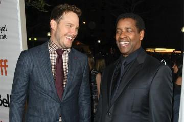 Chris Pratt and Denzel Washington