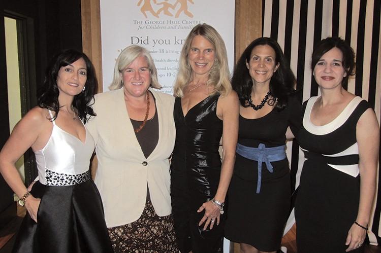 Carm Viola, Susan Chamberlain, Seana Massey, Rebecca Maiese and Leticia Grazia of the George Hull Centre