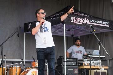 Comedian Frank Spadone hosts inaugural Vaughan Pizzafest