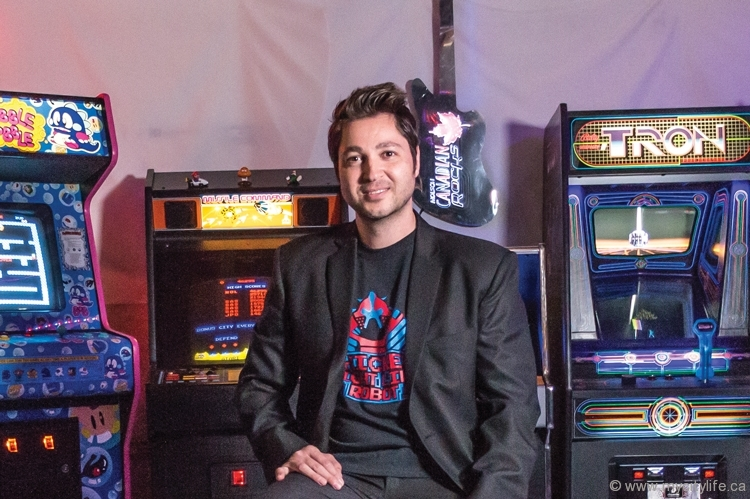 Entrepreneur by day and vintage arcade game refurbisher by night, Sasha Sekretov has built up an enviable collection of flawlessly restored antique games