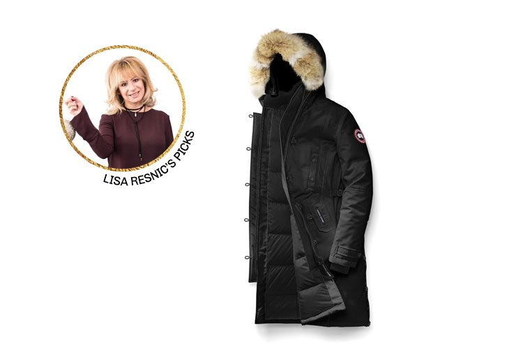 """17. """"The Kensington Parka in black by Canada Goose"""" 