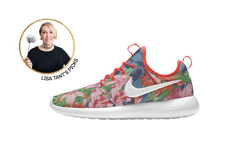 """6. """"A super-colourful pair of Nikes — I love my heels, but I live in comfy sneakers"""" 